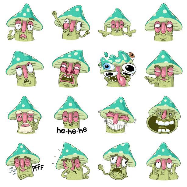 стикеры грибсон для вконтакте получить бесплатно подборка смешных мемных стикеров вк забавные и прикольные сткиеры для вконтакте