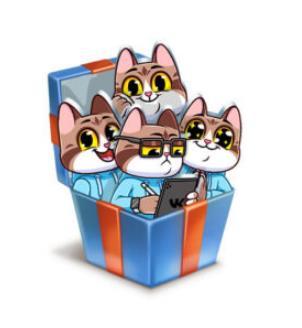 стикеры котеус для вконтакте получить ьбесплатно, новые бесплатные стикеры вк с котом как собрать все стикеры